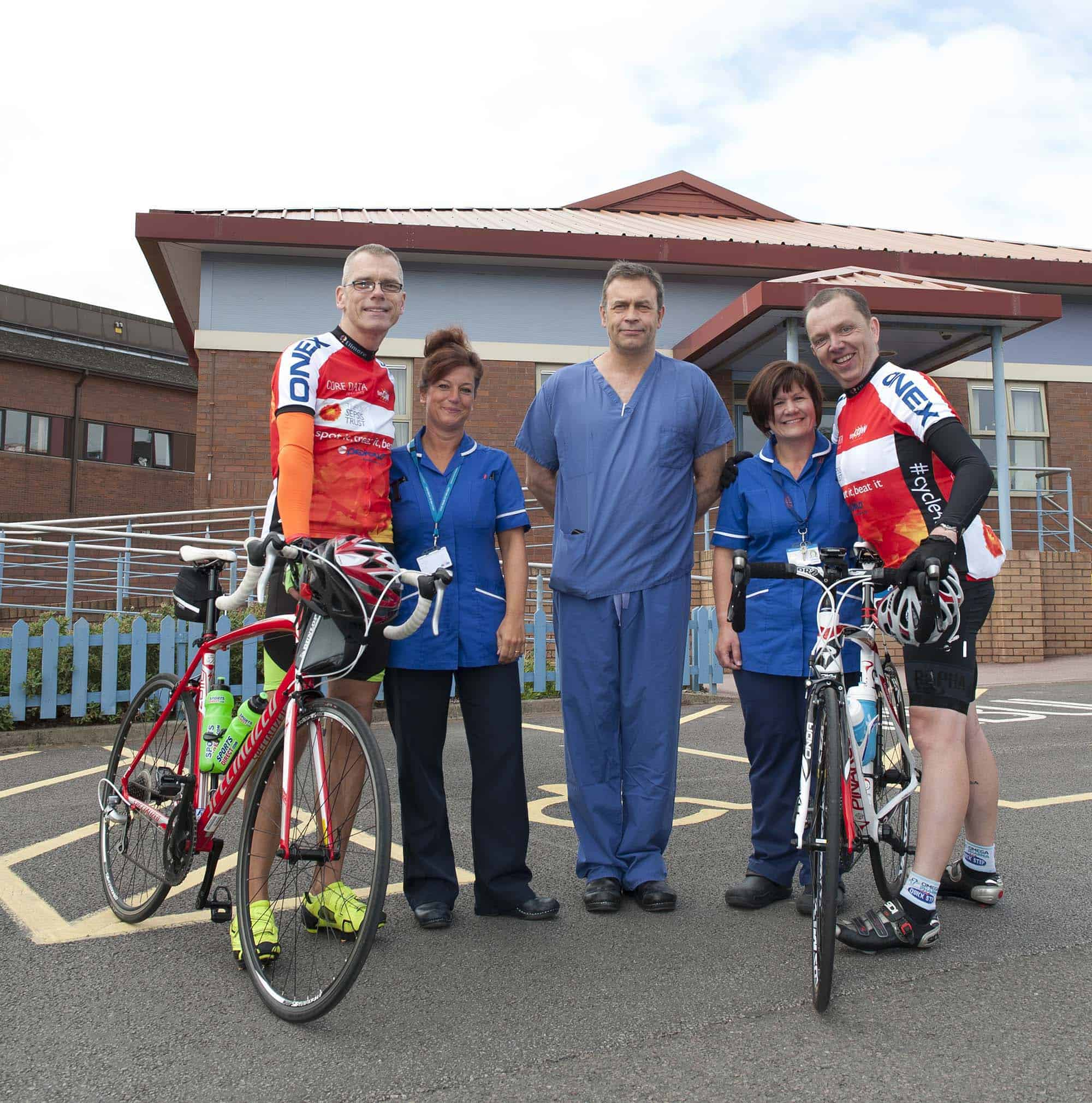 sepsis cycling challenge